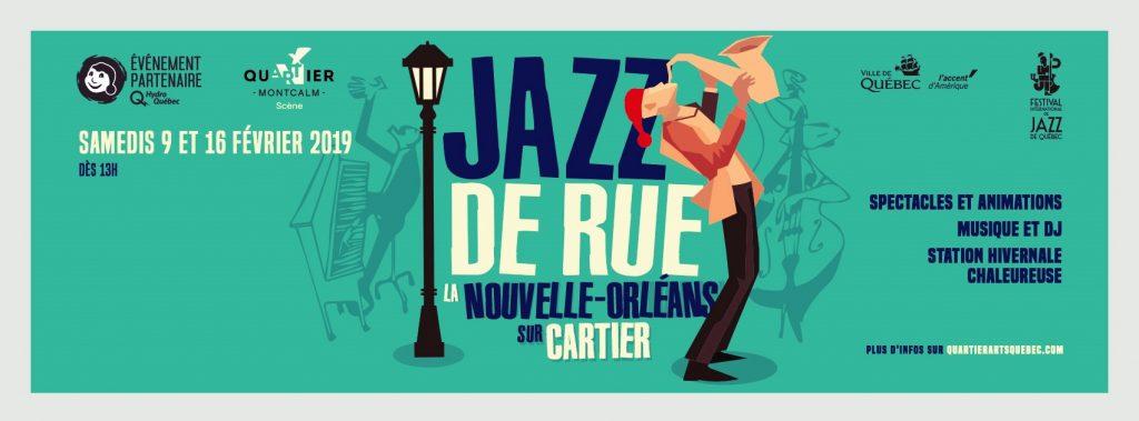 Jazz de rue, la Nouvelle-Orléans sur Cartier_Bandeau