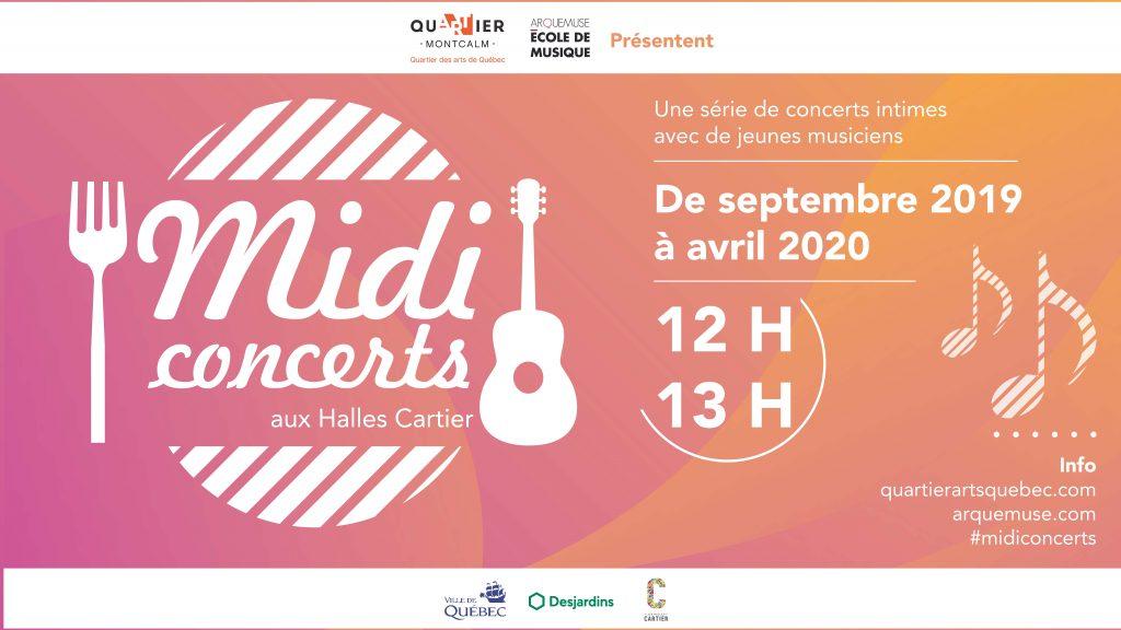 Midi-concerts aux Halles Cartier - visuel