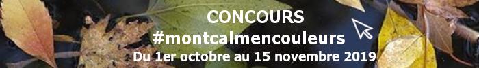 Bannière du concours montcalmencouleurs du 1er octobre au 15 novembre 2019