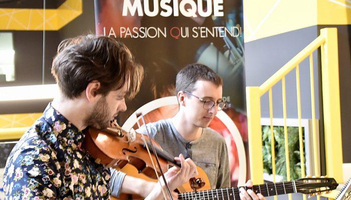Midi-concerts aux Halles cartier