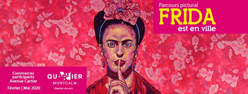Bannière Frida en ville 2020