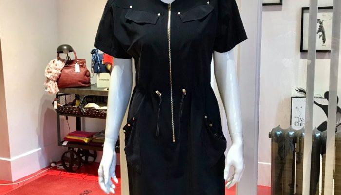 Les Nanas chic robe noire 2020