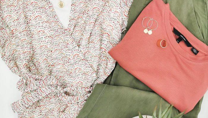 boutique Murmure robe, top coloré et pantalon léger 2020