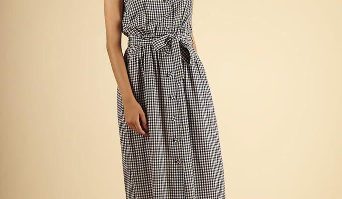 boutique urbain robe vichy 2020