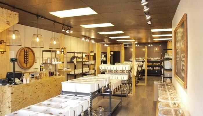 Boutique La Récolte sur l'avenue Cartier