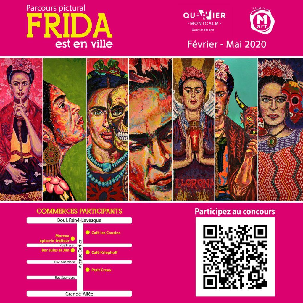 Frida est en ville - Concours