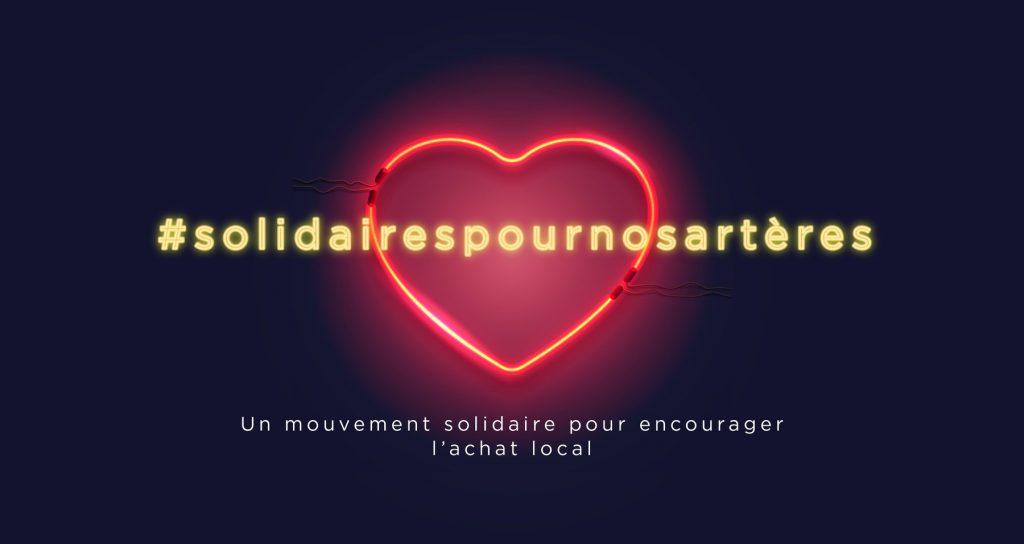 Logo Solidaires pour nos artères