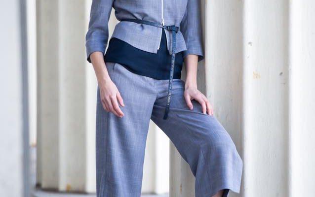 Mode Muse ensemble veste pantalon court 2020