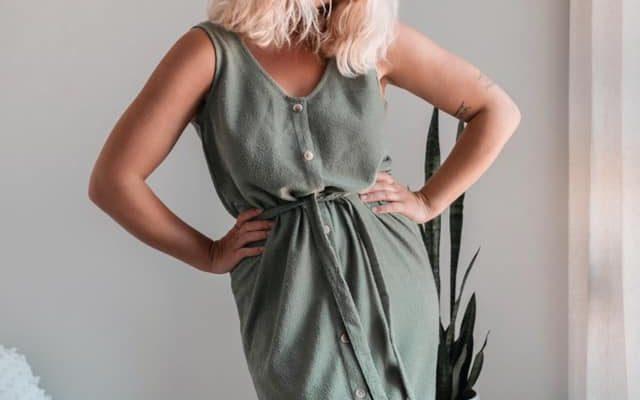 Robe lin IVY 2020