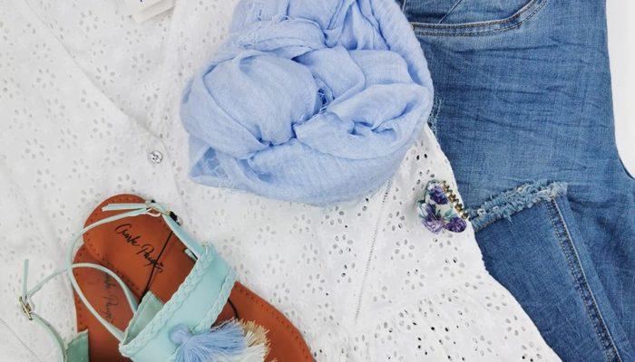 boutique Murmure ensemble bleu ciel 2020