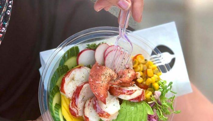 salade de homard par Morena